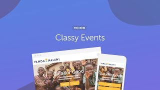Classy Events: Powerful New Tools To Drive Fundraising Success