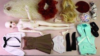 ★구체관절인형 드리밍돌 러블리 벳시 개봉기/엠딩이/옷입히기★Ball Jointed Doll Dreaming Doll Lovely BETSY Unboxing/Doll Dress Up