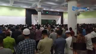 Salat Gaib untuk Korban Gempa Sulteng di Masjid Agung Barru