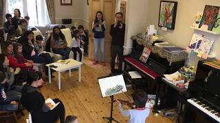 Piano, Violin and Singing Performance Workshop 2019