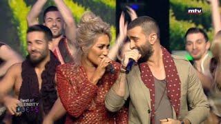مازيكا Celebrity Duets - مايا دياب وجيري غزال , أغنية يا قاطفين العنب تحميل MP3