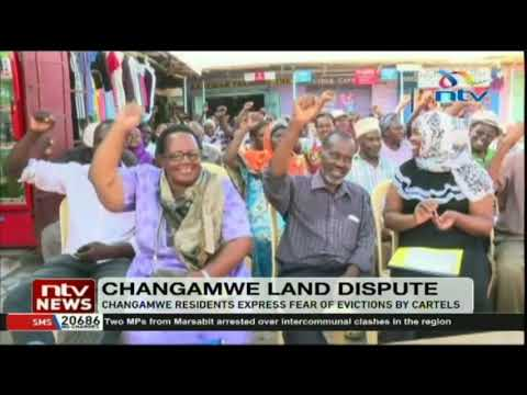 Changamwe residents express fear of evictions by land cartels