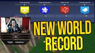 Nick Eh 30 and Faze Clan Break *WORLD RECORD* 56 Kills in One Match