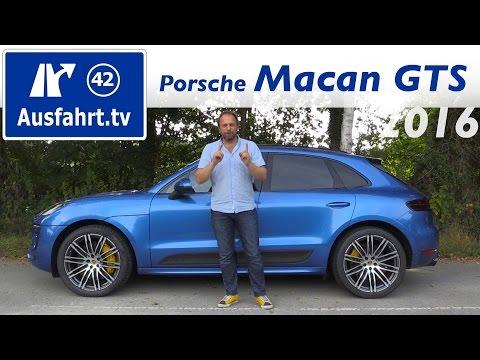 2016 Porsche Macan GTS - Fahrbericht der Probefahrt, Test, Review (Ausfahrt.tv)