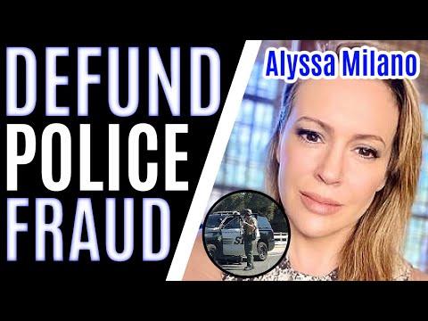 Alyssa Milano CALLS THE POLICE After Tweeting 'Defund The Police'?