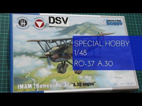 Ro.37 in 1:48 7008183 Romeo Special Hobby: IMAM