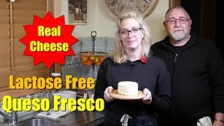 Lactose Free Real Cheese - Queso Fresco