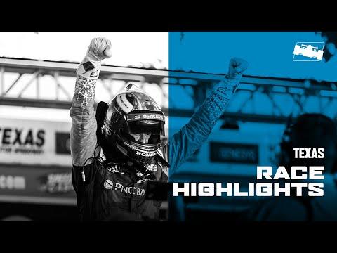 インディカー 開幕戦テキサス300 レースハイライト動画