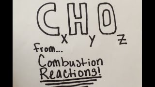 How To: Find Empirical Formula From A Combustion Reaction (Combustion Analysis)
