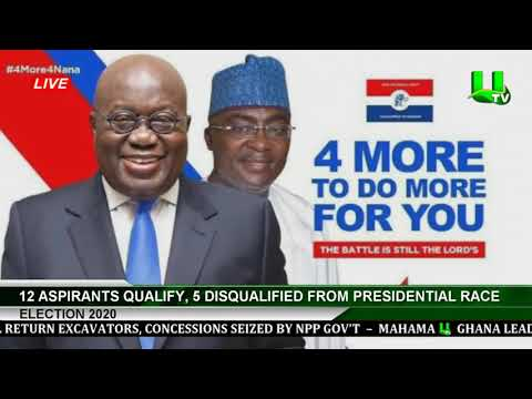 Election 2020: 12 Aspirants Qualify, 5 Disqualified From Presidential Race