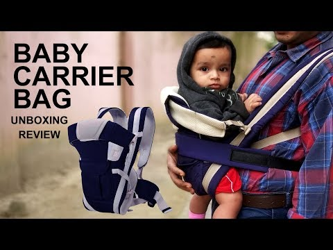 Baby Carrier Bag Unboxing Review and Setup Tutorial