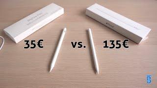 Nachgemacht vs. Original: Apple Pencil 2 + Gewinnspiel! - touchbenny