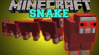 Minecraft: SNAKE (AVOID THE DEADLY SHEEP OR DIE!!) Mini-Game
