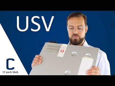 USV: Wofür brauche ich eine unterbrechungsfreie Stromversorgung?