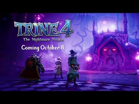 Trine 4 - Release Date Reveal Trailer | Available Oct 8 thumbnail