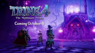 Trine 4 - Release Date Reveal Trailer   Available Oct 8