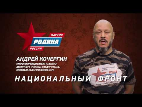 Андрей Кочергин_Партия Родина