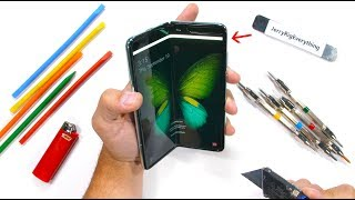 Samsung Galaxy Fold Durability Test! - Is it STILL fragile?