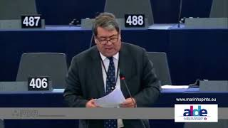 António Marinho e Pinto 25 Oct 2017 plenary speech on forest fires