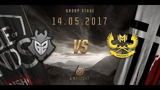 [14.05.2017] G2 vs GAM [MSI 2017][Group Stage]