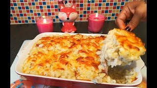 Cheesy Chicken Pasta Bake - How to Make Cheesy Pasta