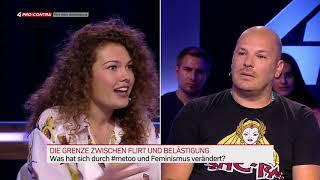 Puls 4 - Pro Und Contra - Sendung 18.07.2018 - Wo Liegt Die Grenze Zwischen Flirt Und Belästigung?