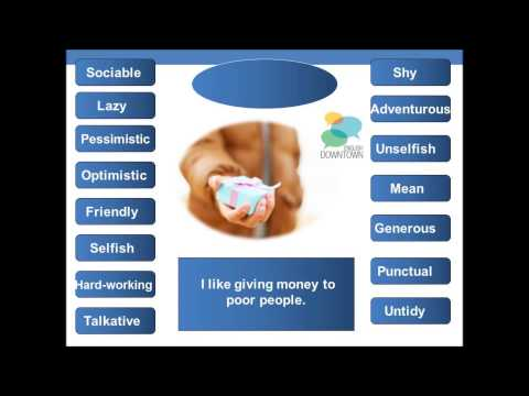 Video personality traits