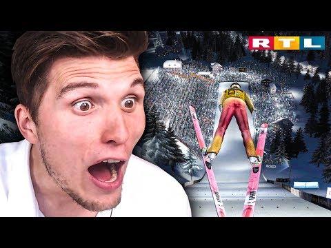 Der RTL Skispringen SIMULATOR