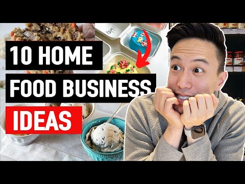 , title : '10 EASY Food Businesses Ideas You Can Start At Home In 2021 | Start A Small Online Food Business
