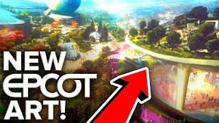 EPCOT OVERHAUL HYPER-DETAILED ART UNVEILED! | D23 Expo 2019 - Disney News