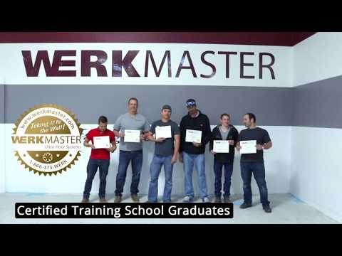 WerkMaster Certified Polished Concrete Training School - YouTube