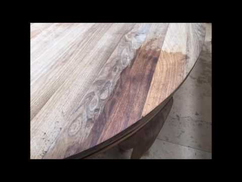 Antique Dining Table Restoration