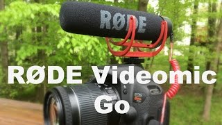 RODE VideoMic Go: Review and Test
