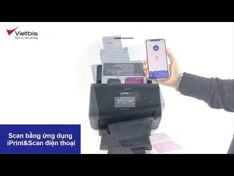 Hướng dẫn sử dụng máy scan Brother ADS-2800W