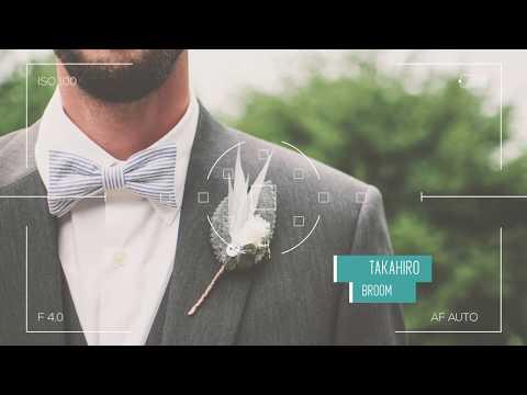 結婚式用生い立ちムービー作成を承ります 格安で短納期にてDVD納品まで実施致します。 イメージ1