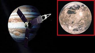 Odkryto tajemniczy sygnał z księżyca Jowisza, Ganimedesa