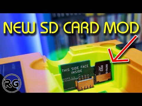 Gamecube Mod - SD2SP2 SD Card Adapter