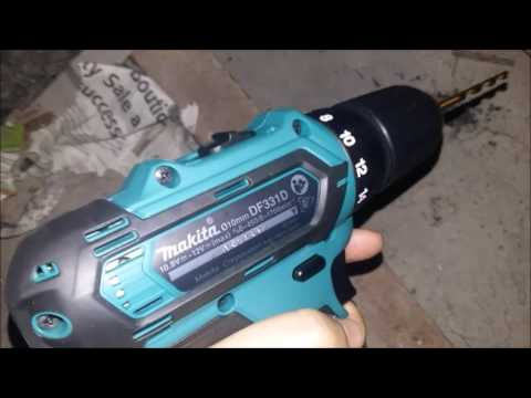 Best Makita DF331DWYE 12 Volt Cordless Drill Metal Review Test