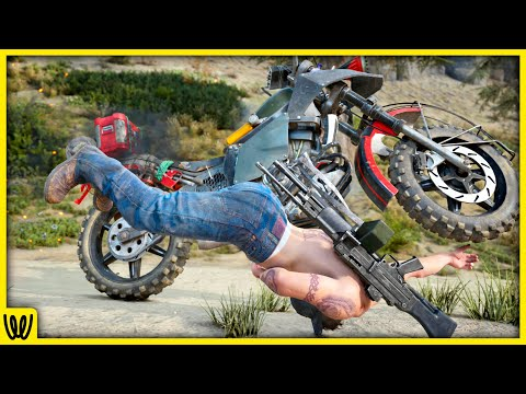 Days Gone - Attempting the New Days Gone Bike Challenge for 6 hours STRAIGHT - Days Gone Challenges