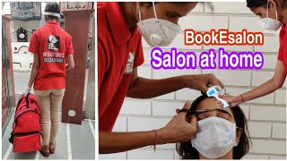 Get Salon Services At Home In Lockdown | BookEsalon
