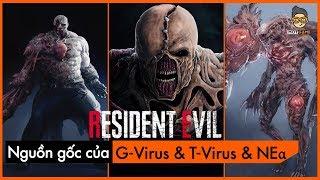 [Phân Tích] Resident Evil - Nguồn gốc của G Virus & T Virus & NEα