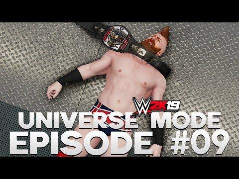WWE 2K19 | Universe Mode - 'VENGEANCE PPV!' (PART 3/4) | #09