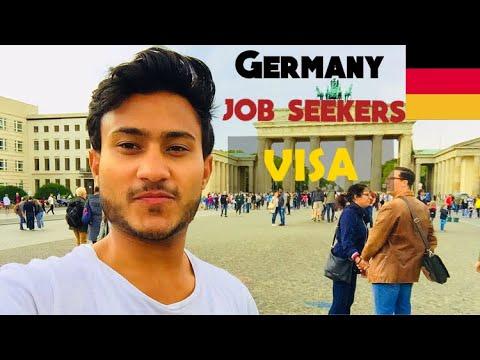 Job Seeker Visa| Work Permit Germany