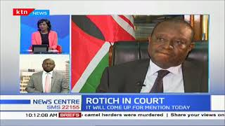Suspended CS Henry Rotich back in court this afternoon