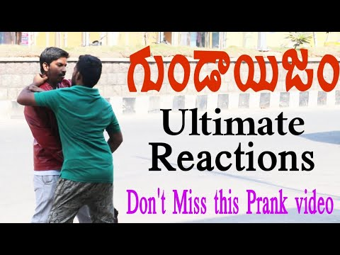 Goondaisam Prank | Ultimate Reactions | Local PRANK TV