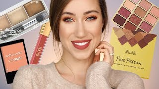Fall Glam Using All Drugstore Makeup 😍