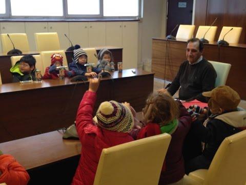 Εκπαιδευτική επίσκεψη Ιδιωτικού Παιδικού Σταθμού στον Δήμο Βύρωνα