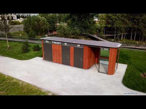 Туалетный модуль по индивидуальному проекту
