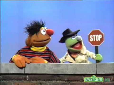 Classic Sesame Street   Lefty Sells Ernie A Stop Sign
