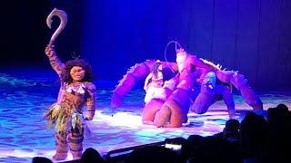 Moana, Maui & Crab Tamatoa: Shiny At Disney On Ice Presents Dare To Dream In Orlando